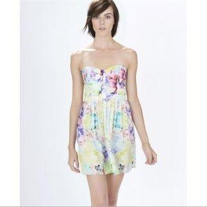 Parker Silk Strapless Lily Arcadia Dress - Sz XS
